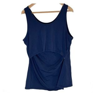 BOOB XXL Organic Cotton Navy Blue Tank Top